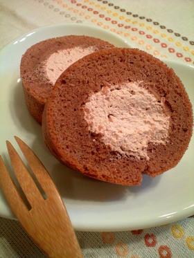 フライパンで簡単☆ロールケーキ