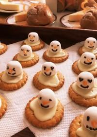 雪だるまクッキー♡
