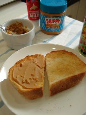♡美味しいピーナッツバターの食べ方♡