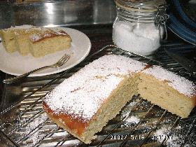 ♥ 甘酸っぱくてヘルシー!全粒粉のレモンケーキ