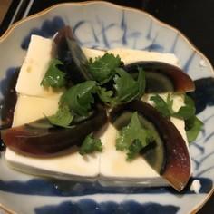 シンプル!ピータン豆腐