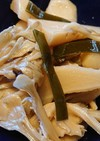 野沢菜のかぶの簡単煮物♪