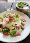 おもてなしに★かぶと生ハムの簡単サラダ