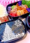 クリスマス海苔弁当 詰め方 常備菜
