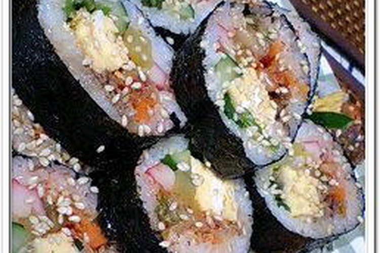 巻き レシピ 海苔