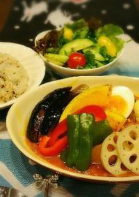 オマール海老風味のスープカレー