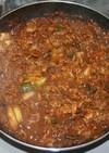 高血圧予防☆乾燥野菜&きのこで煮味噌鍋