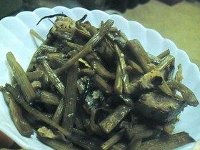 おふくろの味☆ふきと身欠きニシンの煮物