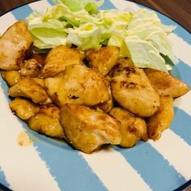 やわらか!簡単鶏胸肉の甘辛焼き