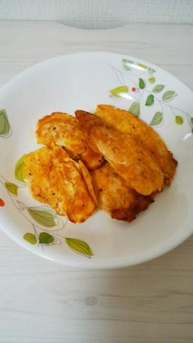 かんたん鶏胸肉のピカタ~チーズ味~
