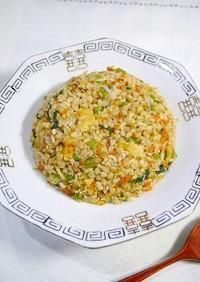 ダイエット!蕎麦の実と米麹の炒飯