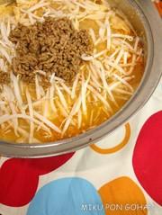 白菜が主役!しびれ坦々鍋の写真