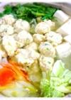 ゆず 香る⭐簡単 鶏だんご鍋