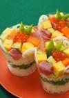 シークヮーサー酢飯のカップ寿司
