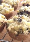 マフィン型deさつま芋クランブルタルト