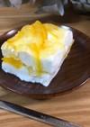 水切りヨーグルトのレアチーズケーキ