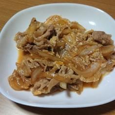 豚肉と玉ねぎのさっぱり炒め