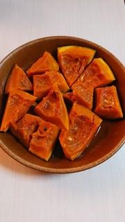 ホクホク!かぼちゃの煮物(レンジでOK)の写真