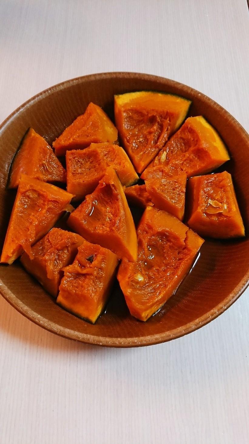 ホクホク!かぼちゃの煮物(レンジでOK)