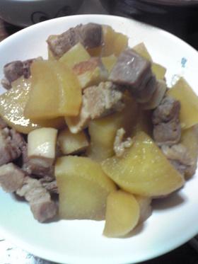 簡単♪ご飯がススム豚の角煮風♪