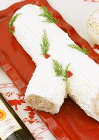 塩味クリスマスケーキ⁉️ブッシュドノエル