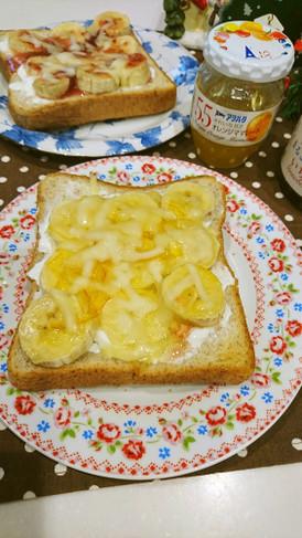 アヲハタ55 ジャムバナナトースト