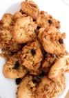 チョコチップクッキーとフルグラクッキー
