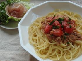 ケチャップで本格☆ツナトマトスパゲッティ