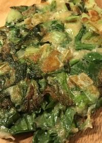 【大麦粉レシピ】お好きな野菜でチヂミ♪