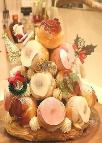 クリスマスツリーシューケーキ☆