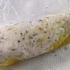 サラダチキン(作り方メモ)