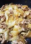 豚バラと大根のてりてりオイスター炒め