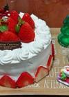 メリークリスマス☆苺のショートケーキ
