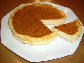 超簡単ベイクドチーズケーキ