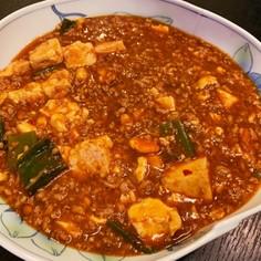 ご飯がすすむ、本格麻婆豆腐