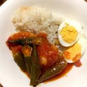 ひよこ豆ライスfeat.チキンガンボの写真