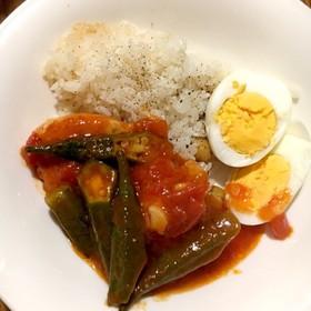 ひよこ豆ライスfeat.チキンガンボ