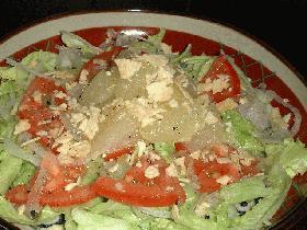 グレープフルーツdeサラダ