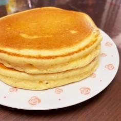 ホットケーキ☆厚みの出る焼き方♪