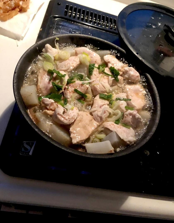 簡単!時短!鶏肉と大根のあったか煮物