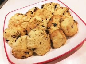 簡単 チョコチップドロップクッキー