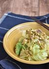 豚バラ蒸しキャベツの中華風香味ダレ