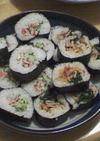 カニサラダ&韓国風海苔巻き