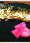 鯖の塩焼き (魚焼き片面グリル使用)