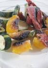 彩り野菜のグリル(冷凍保存用)