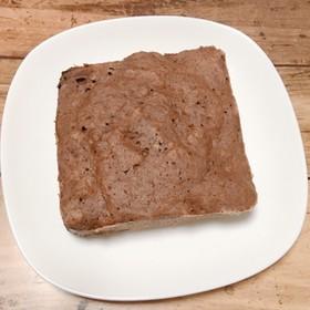 《レンジ》タッパーで米粉バナナ蒸しパン