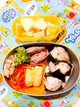 幼稚園お弁当 3歳4ヶ月②