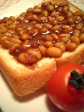 ○●○大豆三味トースト○●○