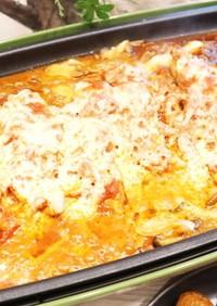 簡単イタリアンなタラのチーズタッカルビ風