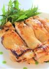 鶏もも肉の味噌ヨーグルト焼き